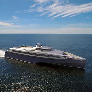 ferry à passagers à grande vitesse