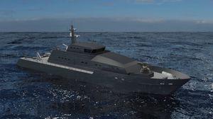 navire spécial de surveillance offshore