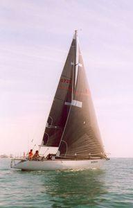 grand-voile / pour voilier de course / coupe tri-radiale
