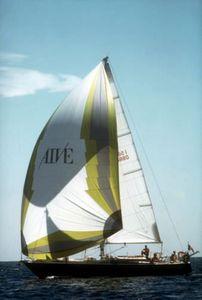spinnaker asymétrique / pour voilier de croisière