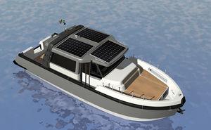 vedette électrique à énergie solaire / hybride / lobster / max. 12 personnes