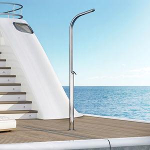 douche pour yacht / de pont pour bateaux / en acier inox / pour ponton