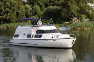 bateau maison in-bord / à fly / fluvial