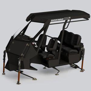 console de navigation pour bateau pneumatique