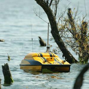 drone de surface pour mesures environnementales / mini catamaran