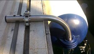 pare-battage pour bateau / de ponton / cylindrique / gonflable