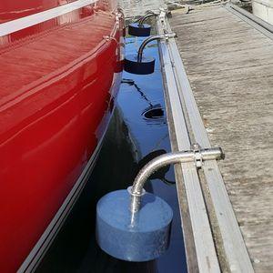 support pour défense de ponton