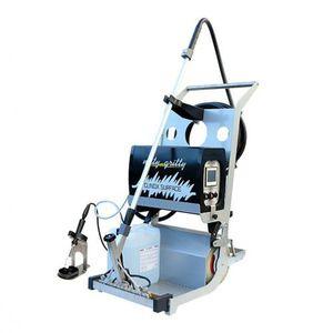 machine de décapage et de passivation de soudures TIG sur acier inoxydable