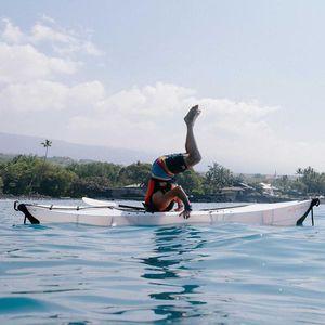 kayak pliable / d'eau calme / d'eau vive / monoplace