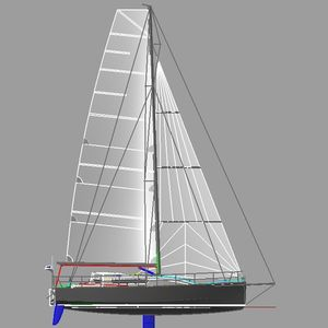 monocoque / de croisière rapide / de course océanique / 2 ou 3 cabines