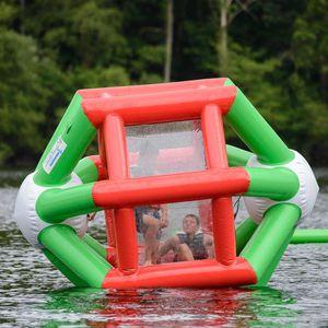 jeu aquatique roue / tourniquet / gonflable / flottant