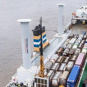 rotor Flettner pour navire
