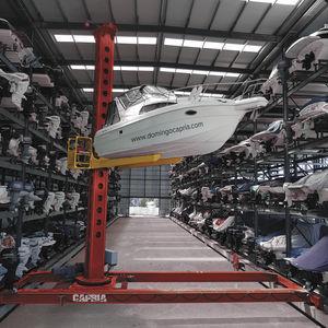 portique de stockage de bateaux