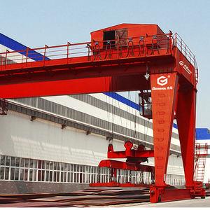 grue pour chantier naval / sur monorail / à portique