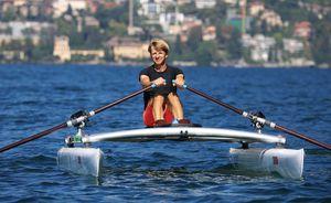 catamaran à rames