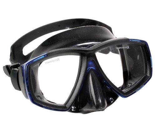 masque de plongée bi-hublots