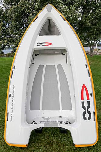 barque hors-bord / open / annexe pour yacht