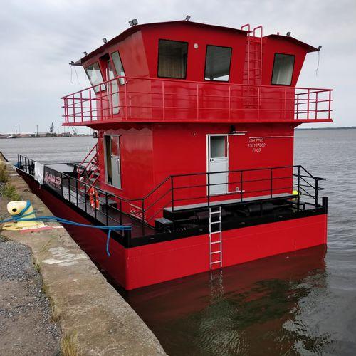 bateau professionnel drague
