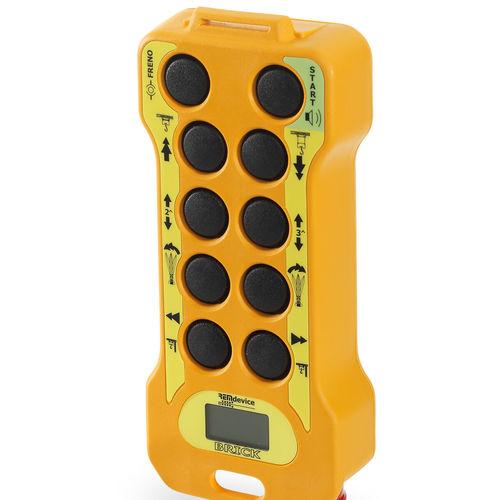 télécommande radio pour grue