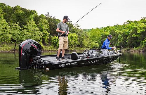 bass boat hors-bord - Crestliner