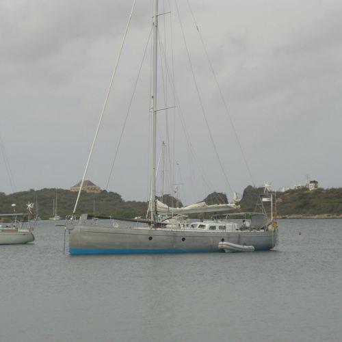 sailing-yacht de croisière / cockpit ouvert / en aluminium / 2 cabines