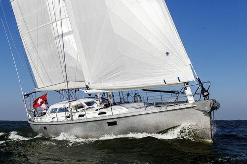 sailing-yacht de croisière / cockpit ouvert / en aluminium / 3 cabines