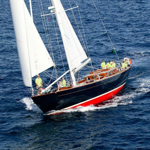 sailing-yacht de croisière / traditionnel / cockpit ouvert / en aluminium