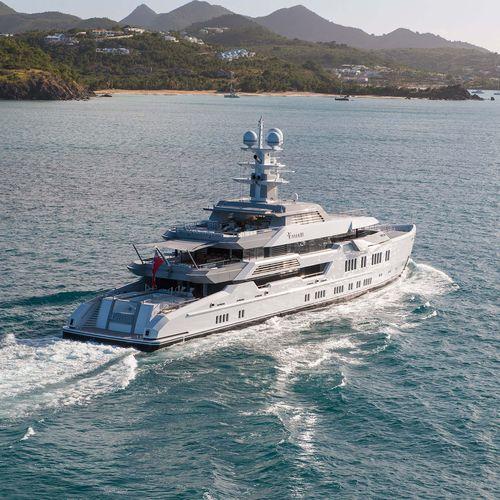 mega-yacht de croisière - Lurssen Yachts