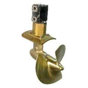 propulseur d'étrave / de poupe / pour bateau / électrique
