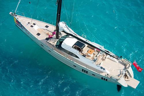 sailing-yacht de croisière / de régate / salon de pont / 4 cabines