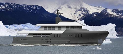 super-yacht pour expédition