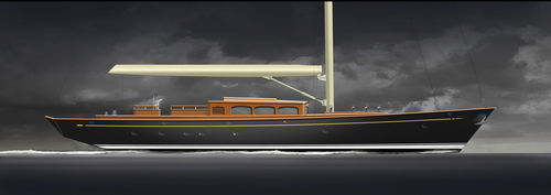 sailing-yacht traditionnel