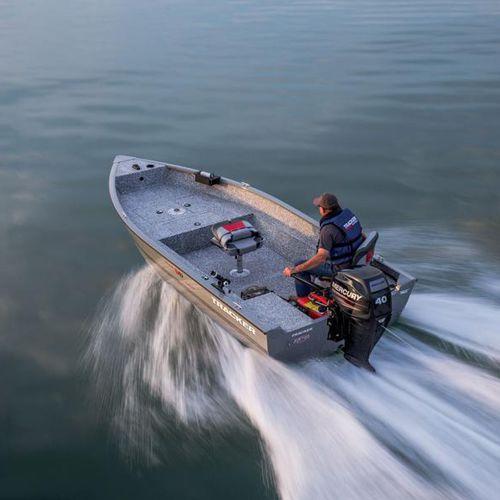 bay boat hors-bord / de pêche sportive / en aluminium / max. 4 personnes
