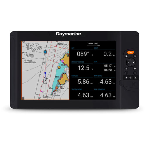 afficheur pour bateau / multifonction / LCD / GPS