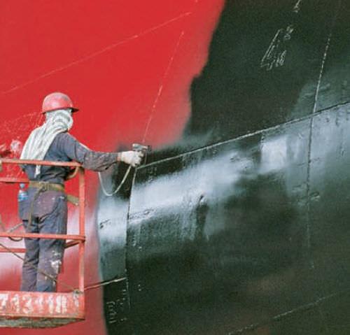 revêtement pour bateau professionnel / pour navire / bi-composant