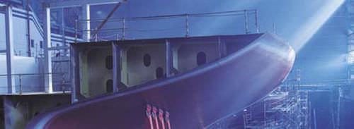 revêtement pour bateau professionnel / pour navire / brillant / monocomposant