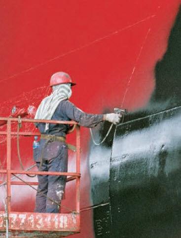 revêtement antifouling pour navire de commerce