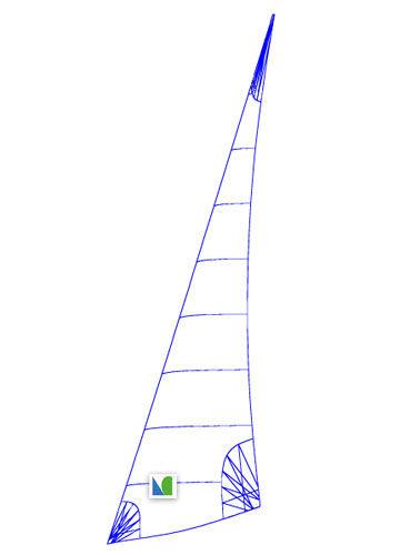 trinquette / pour voilier de croisière