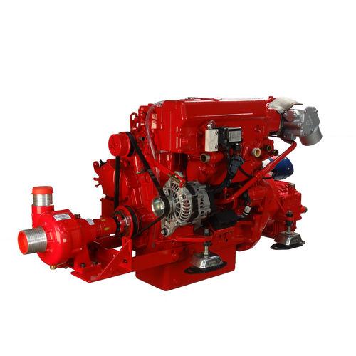 moteur pour bateau professionnel / in-bord / diesel / injection directe