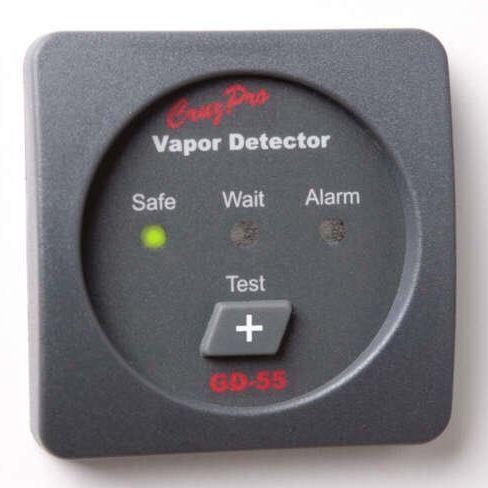 détecteur de gaz / de vapeur / pour bateau / d'alarme