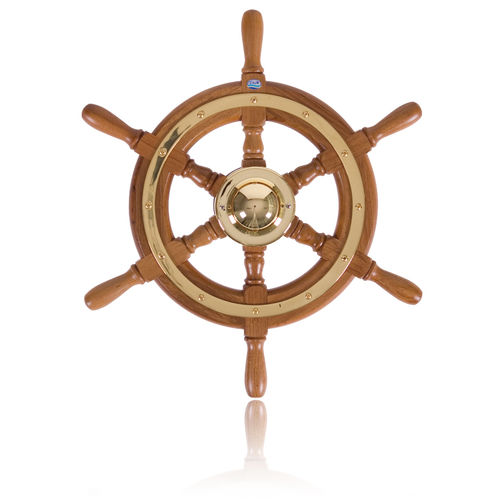 volant en teck pour bateau à moteur / classique