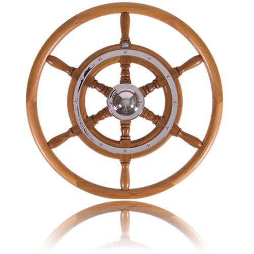 volant en teck pour bateau à moteur / en acajou / classique
