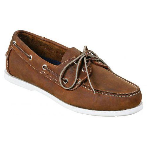 chaussure de pont / pour femme / en cuir