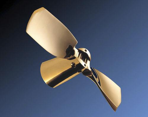 hélice pour voilier / à pales repliables / ligne d'arbre / saildrive