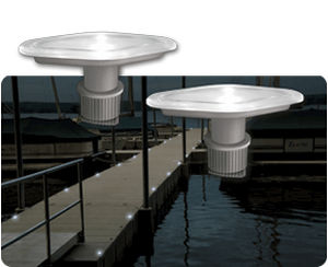 éclairage pour ponton solaire
