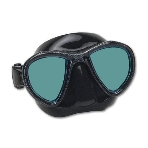 masque de plongée bi-hublots / antireflet