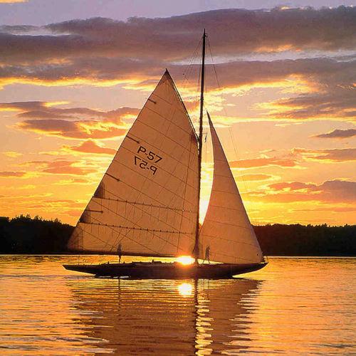 grand-voile / voile d'avant / voile de portant / pour voilier traditionnel