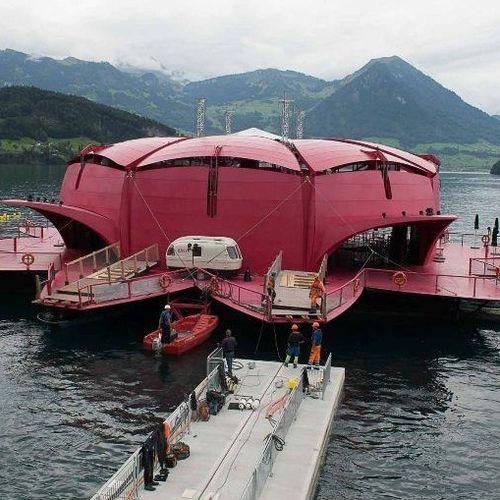 système d'ancrage de pontons