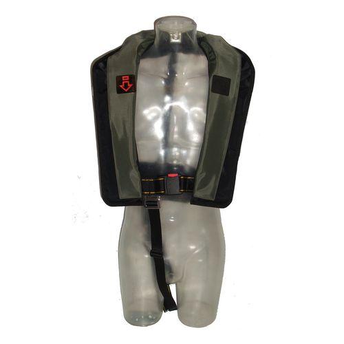 gilet de sauvetage gonflable automatique / 150 N / pour la pêche / à usage professionnel