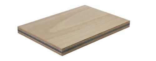 panneau sandwich pour isolation phonique / en caoutchouc / bois